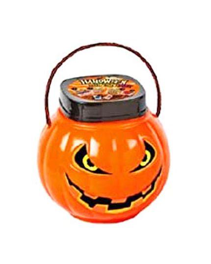 Secchiello Zucca con Caramelle Halloween Pumpkin Mix 200gr