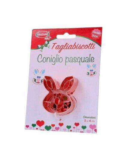 Tagliabiscotti in Acciaio Inox Coniglio Pasquale