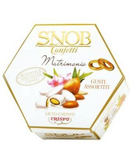 Confetti Snob Lieto Evento Matrimonio 6 Gusti Assortiti 500 gr