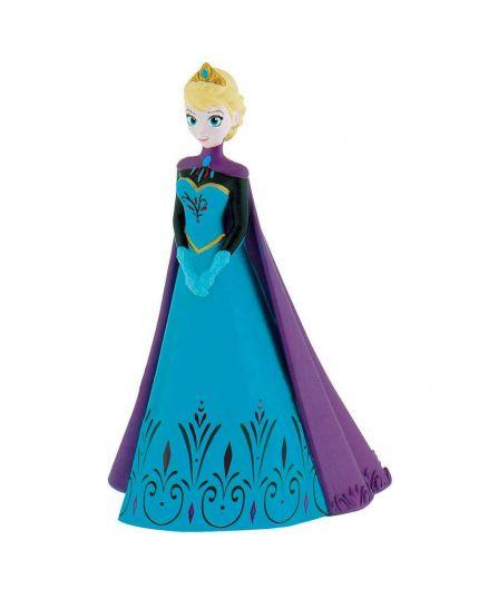 Sopratorta Cake Topper Elsa Frozen Abiti Reali 10cm