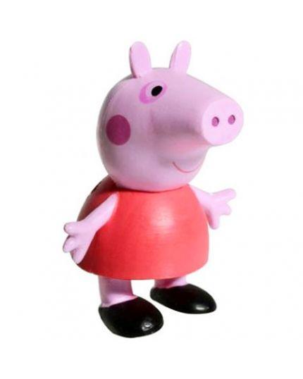 Sopratorta Pvc Peppa Pig 6cm