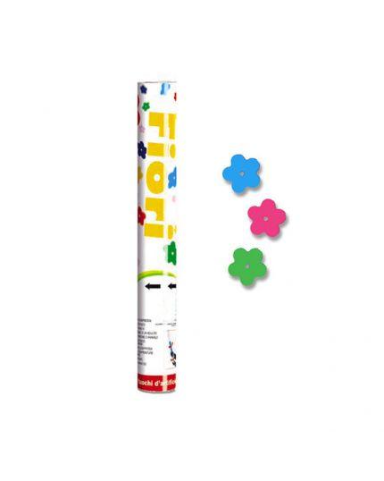 Tubo Sparacoriandoli Fiori Multicolor 20cm
