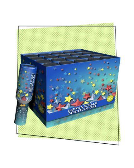 Tubo Spara Stelle Multicolor 30cm