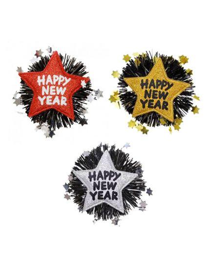 Spilla StellaHappy New Year Capodanno