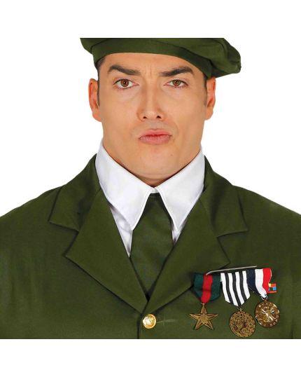 Spilla 3 Medaglie Militari