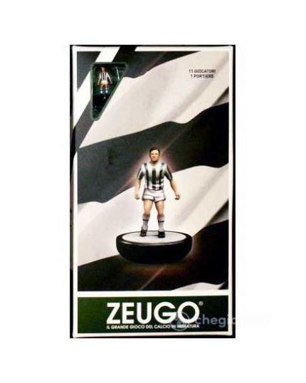 Zeugo Sqadra Speciale Bianco Nera 11 Giocatori e Portiere