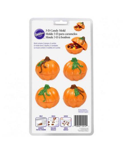 Stampo 3D Pvc per Caramelle Forma Zucche 5,5cm