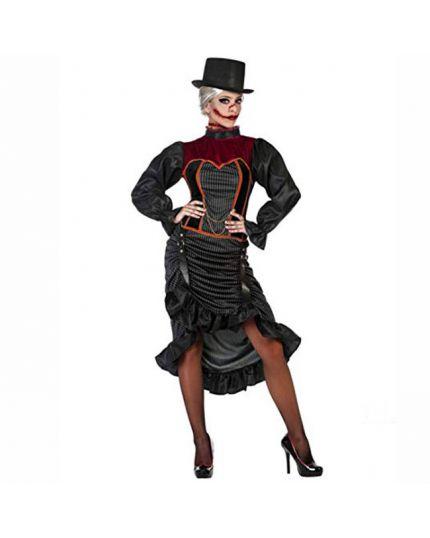 Costume Dark Lady Steampunk Donna