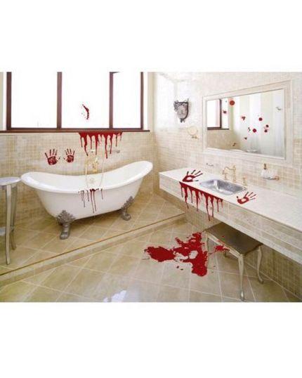 Stickers Horror Macchie di Sangue 24pz