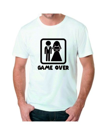 T-shirt Uomo Game Over