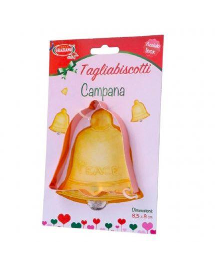 Tagliabiscotti in Acciaio Inox Campana