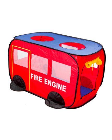 Tenda Camion Pompieri Per bambini 127x72x72 Cm