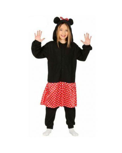 Costume Topolina Peluche Bambina