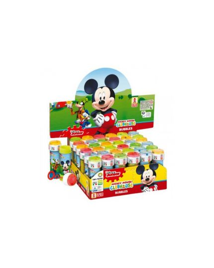 Kit Bolle di Sapone Mickey Mouse 5Pz