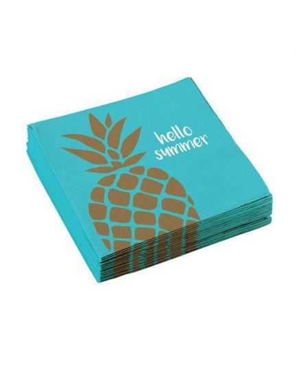 Tovaglioli Ananas Hello Summer