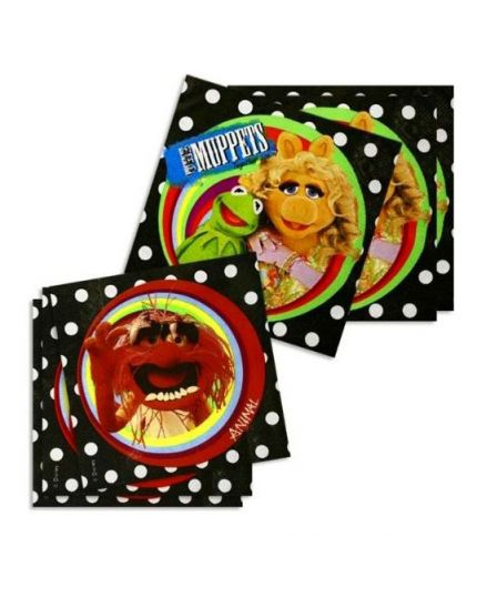 Tovaglioli Carta Muppets