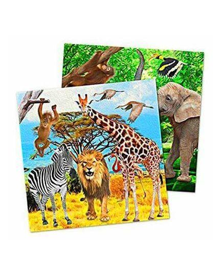 Tovaglioli Carta Zoo Safari