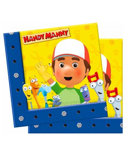 Tovaglioli Carta Handy Manny
