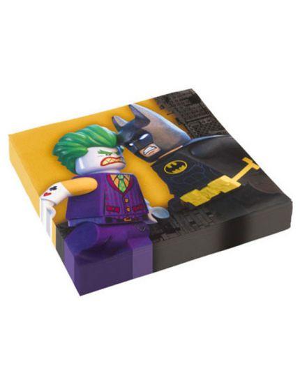 Tovaglioli Carta LEGO Batman