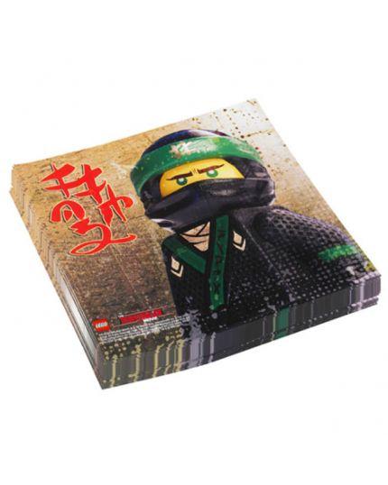 Tovaglioli Carta Ninjago