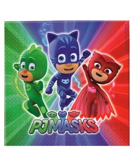 Tovaglioli Carta PJ Masks Super Pigiamini