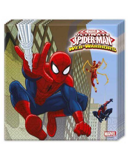 Tovaglioli Carta Ultimate Spiderman