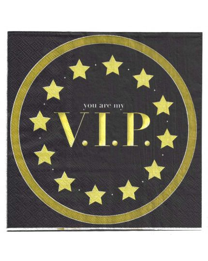 Tovaglioli Carta You Are My VIP