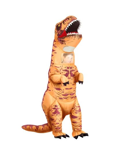 Costume Dinosauro T-Rex Gonfiabile
