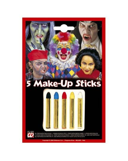 Trucchi Make Up sticks multicolore