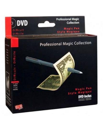 Trucco Magia Penna Magica Professional Magic Collection con DVD