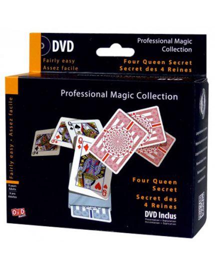 Trucco Magia Segreto delle Quattro Regine Professional Magic Collection con DVD