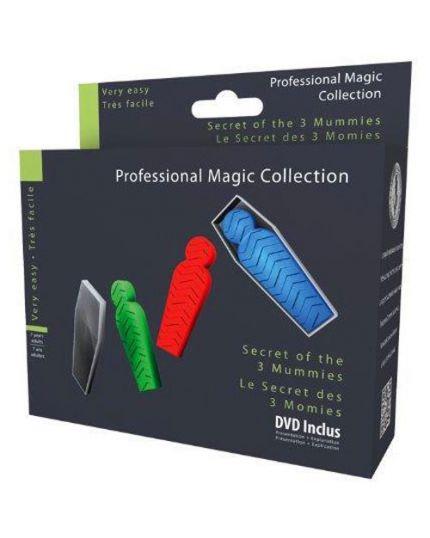Trucco Magia Segreto delle Tre Mummie Professional Magic Collection con DVD