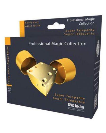 Trucco Magia Super Telepatia Professional Magic Collection con DVD