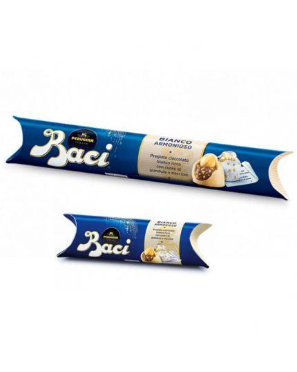 Tubo Baci Perugina Cioccolato Bianco Varie Dimensioni