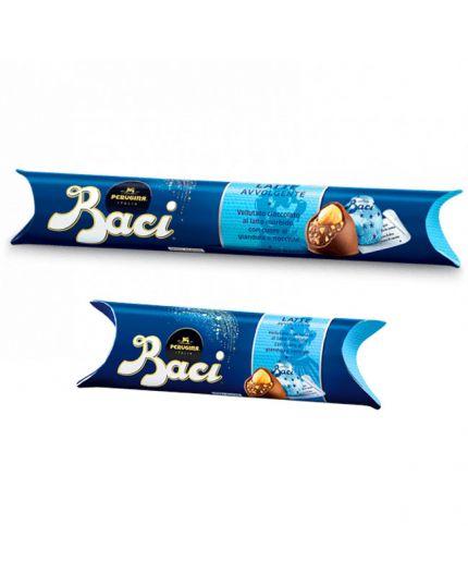 Tubo Baci Perugina Cioccolato al Latte Varie Dimensioni
