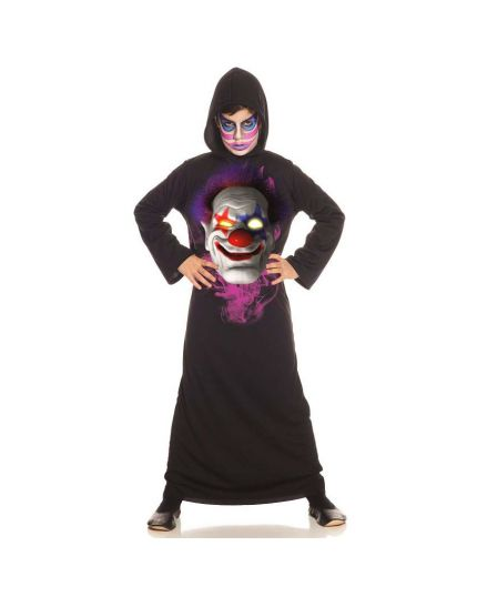 Costume Tunica Clown Horror Bambino