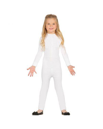 Costume Tuta Bianca Super Elastica Bambino