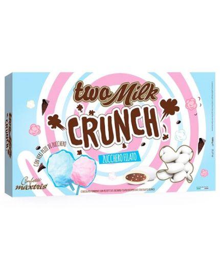 Confetti Maxtris Two Milk Crunch Zucchero Filato 1000 gr
