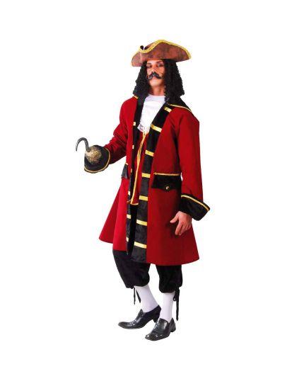 Costume Capitan Uncino Uomo Deluxe
