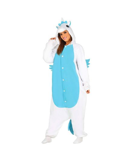 Costume Unicorno Celeste Adulto