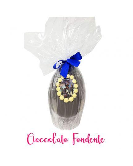 Uovo Pasqua Artigianale Fortnite Cioccolato Fondente Personalizzabile Varie Dimensioni