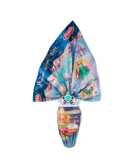 Uovo Pasqua Principessa dei Sogni Alysel con Coroncina Dolfin 320Gr
