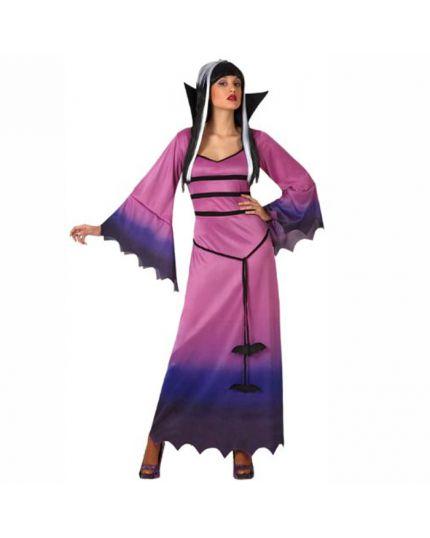 Costume Vampira Porpora Donna