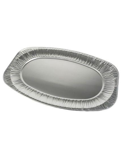 Vassoi Grandi Alluminio Ovali 3pz 55x36cm