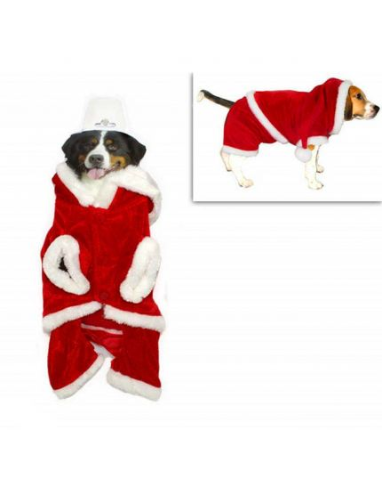Vestitino Babbo Natale per Cane Piccola Taglia