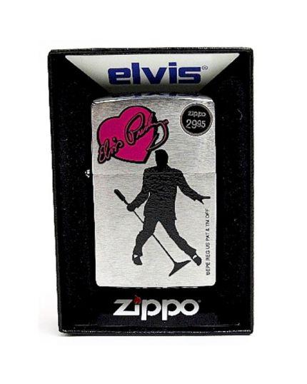 Accendino Zippo - Elvis Heart