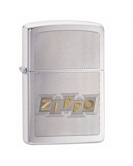 Accendino Zippo Block Letters Design
