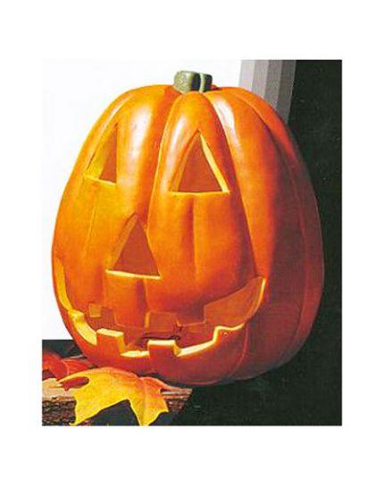 Zucca Halloween Pvc con Luce Intermittente 23cm