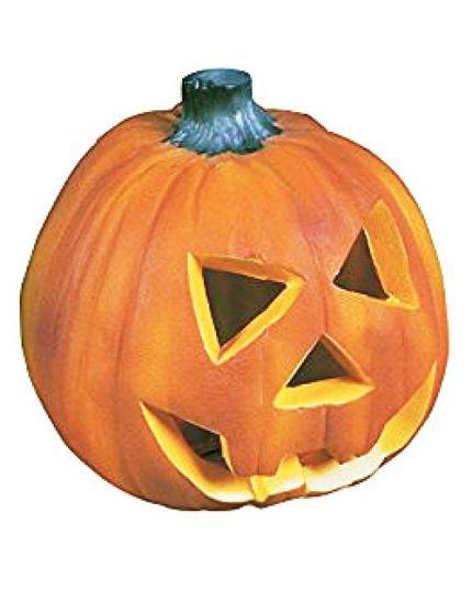 Zucca Halloween Pvc con Luci 22cm