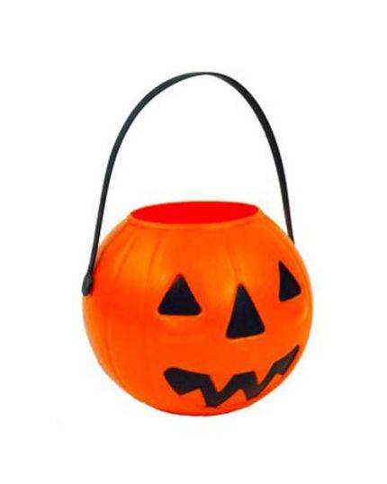 Zucca Halloween Cestino Dolci 14cm